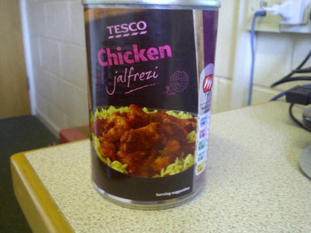 Tesco Chicken Jalfrezi Review Student Munch