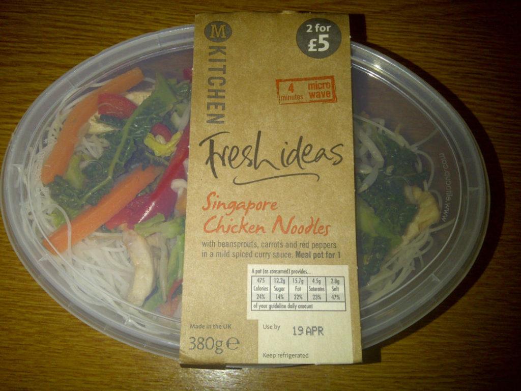 Morrisons Singapore Chicken Noodles Fresh Ideas