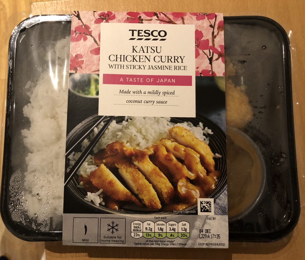Tesco Katsu Chicken Curry Review Student Munch