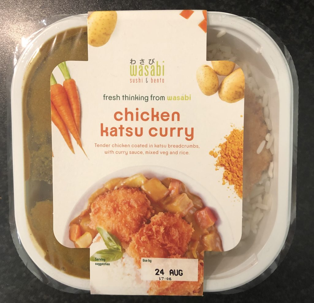Wasabi Chicken Kastu Curry Review Student Munch